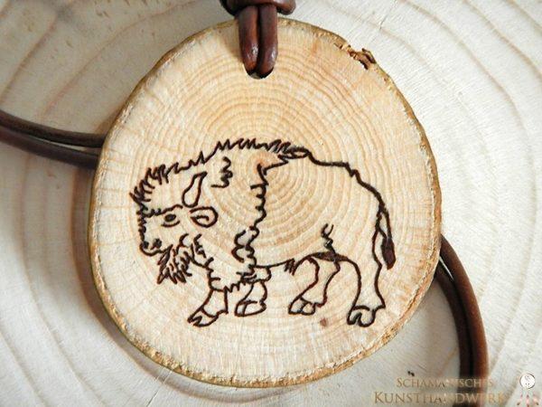 Holzanhänger