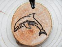 Krafttier Amulett Delfin (Abb. ähnlich)