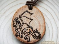 Krafttier Amulett Drache