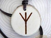 Runen Amulett Algiz  (Abb. ähnlich)