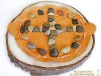 Medizinrad im Lederbeutel (Abb. ähnlich & ohne Dekoration)