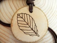 Kraftbaum Amulett Buche (Abb. ähnlich)