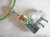 Elementflaschen Amulett