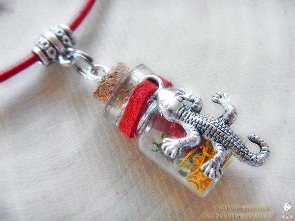 Elementflaschen Amulette