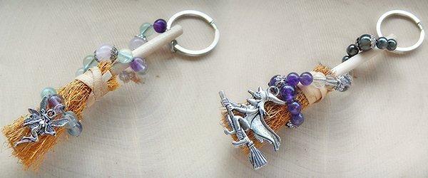 Hexenbesen Schlüsselanhänger Kollektion 2