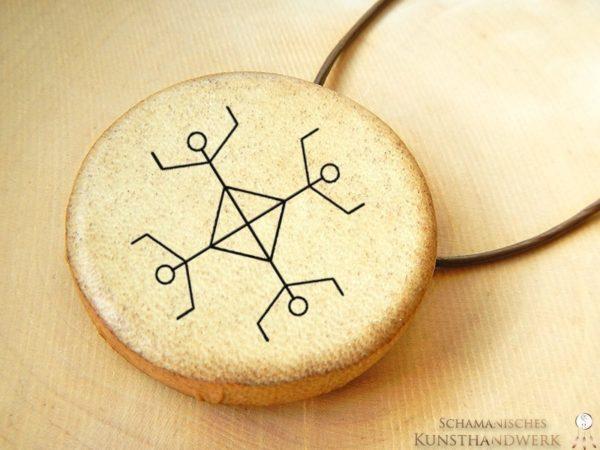 Schamanentrommel Amulette