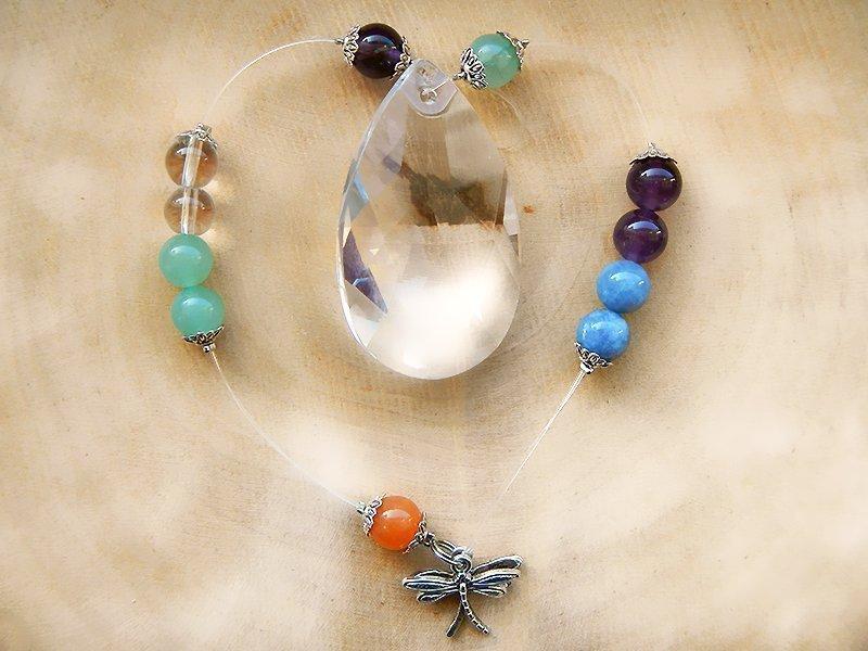 Krafttier Regenbogenkristall