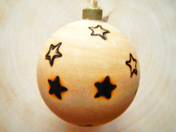 """Weihnachtskugel """"Sterne"""" (Abb. ähnlich)"""