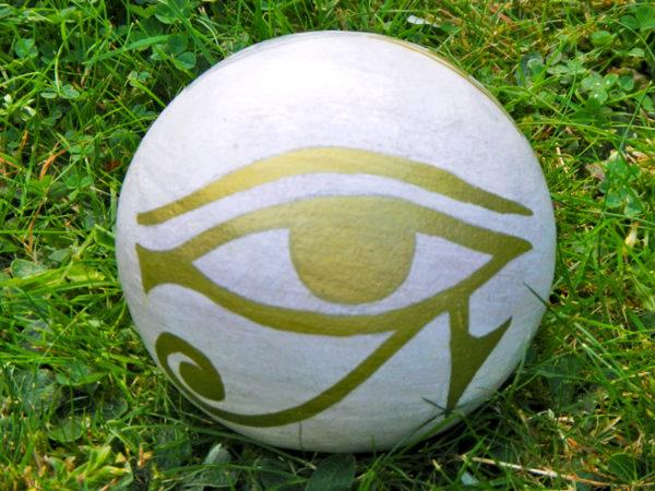 "Gartenkugel ""Auge des Horus"" (Abb. ähnlich)"