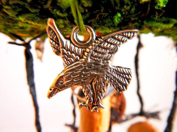 """Beltane Baum """"Runen"""" - Rabe Munin Motivanhänger (Abb. ähnlich)"""