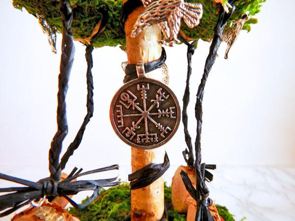 """Beltane Baum """"Runen"""" - Runenkompass (Abb. ähnlich)"""