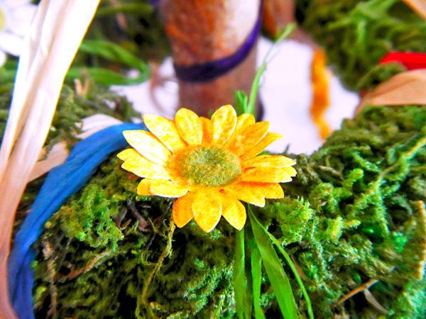 Beltane Baum - gelbe Blume (Abb. ähnlich)